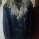 Куртка зимняя мужская (нат.кожа, нат.мех), Новосибирск
