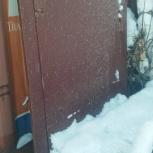 Дверь железная 1.5м (выход на крышу или техэтаж), Новосибирск