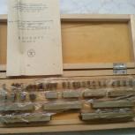 Продам набор №2 концевых мер 2 класса точности, Новосибирск