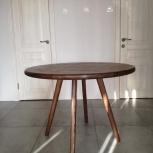 Круглый деревянный стол, Новосибирск