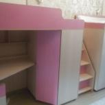 Продам комплект мебели в детскую(девочкам), Новосибирск