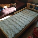 Продам детскую кровать ikea с матрасом vyssa, Новосибирск