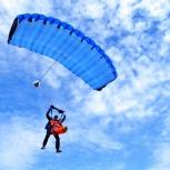 Прыжок с парашютом с инструктором (тандем), Новосибирск