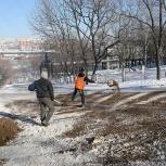 Песок технический для посыпания дорог тротуаров. Доставка!, Новосибирск
