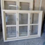 Деревянные окна, производство и продажа цена за  (м2), Новосибирск
