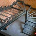 Лестницы на металлокаркасе, Новосибирск