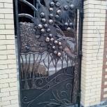 Кованые заборы, решетки, ворота. Декоративные кованые элементы, Новосибирск