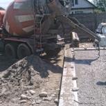 Доставка бетона без выходных. Услуги КамАЗ-миксер, Новосибирск
