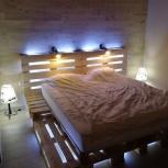 Кровать из поддонов, Новосибирск