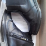 Ботинки демисезонные на мальчика р.34 нат.кожа, Новосибирск