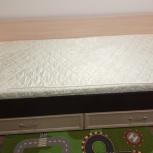 Кровать 0,9 С ящиками С матрасом, Новосибирск