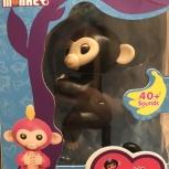 Интерактивная обезьянка Finger Monkey, Новосибирск
