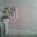 Ремонт и замена труб, разводка труб, замена батарей, сантехник, Новосибирск