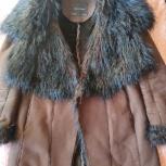 Дублёнка женская Zara из искуственного меха, Новосибирск
