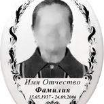 Ритуальное фото, металлокерамика, фото на памятник за один день, Новосибирск