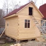 Дачные домики, Бани на заказ любой сложности и размера, Новосибирск