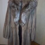 Продам шубу норковую с капюшоном, Новосибирск