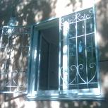 Решётки на окна с полимерным покрытием, Новосибирск