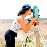 Видео-курс по геодезии. Работа с тахеометром, Новосибирск