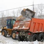 Уборка снега. Вывоз снега, Новосибирск