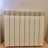 Продаю отличные аллюминиевые радиаторы. Цвет белый., Новосибирск