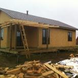 Строительство домов ижс, отделка, Новосибирск