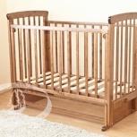 Продам детскую кроватку Марина С700 медовая., Новосибирск