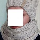 Комплект шапка и шарф, Новосибирск