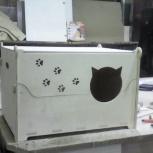 Разборный домик для кошек, Новосибирск