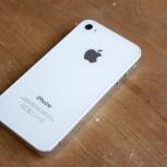 Продам iPhone 4 8gb, Полный комплект с чеком, Новосибирск
