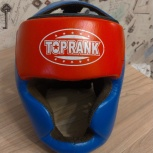 Продам шлем топ ранк закрытый кожа, р-р М, Новосибирск