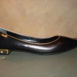 Продам Туфли черного цвета р. 35,5, Новосибирск