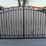 Ворота распашные, Новосибирск