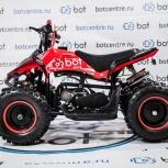 Детский квадроцикл ATV-BOT RAPTOR 50 красный, Новосибирск