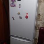 """Продам холодильник """" indesit """", полный no frost, практически новый, Новосибирск"""