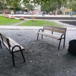 Лавочки и скамейки, Новосибирск
