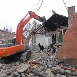 Снос зданий сооружений, демонтаж, Новосибирск