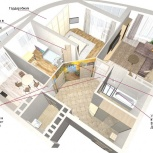 Консультация дизайнера. Планировка квартир, офисов, торг. помещений., Новосибирск