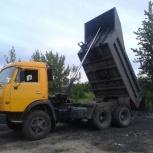 Камаз-самосвал: доставка щебня, песка, грунта и пр, Новосибирск