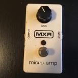 Продам педаль MXR M133 Micro Amp, Новосибирск