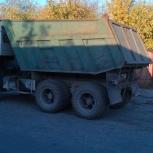 Заказ, услуги самосвала КАМАЗ 13т., Новосибирск