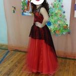 Платье для торжества на девочку 10-12 лет, Новосибирск