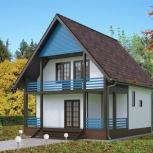 Дом (коттедж) для круглогодичного проживания из СИП панелей (122 м2), Новосибирск