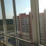 Алюминиевые раздвижные балконные окна б/у, Новосибирск