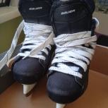 Продам Хоккейные коньки Bauer Flexlite  1.0 YTH  б/у, Новосибирск