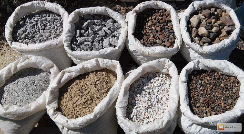 Песок речной в мешках и глина в мешках новый дом строительная компания Ижевск