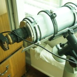 Телескоп из объектива ТРИПЛЕТ + камера ЛЕВЕНГУК., Новосибирск