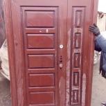 Входная дверь, двухстворчатая утепленная, Новосибирск