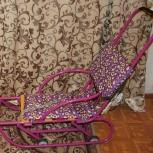 Санимобиль на колесах педальный (колёса выдвижные), Новосибирск