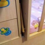 Продам кровать-трансформер детскую с матрасом, Новосибирск